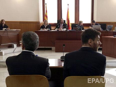 Суд Испании решил несажать Месси втюрьму