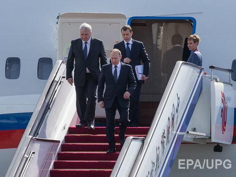 Песков рассказал обобеспечении безопасности В. Путина