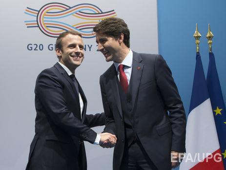 Трюдо иМакрон насаммите G20 побеседовали обУкраине