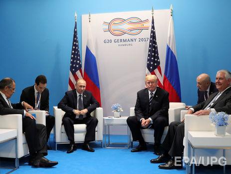 Язык жестов выдал неуверенность В. Путина напереговорах сТрампом,