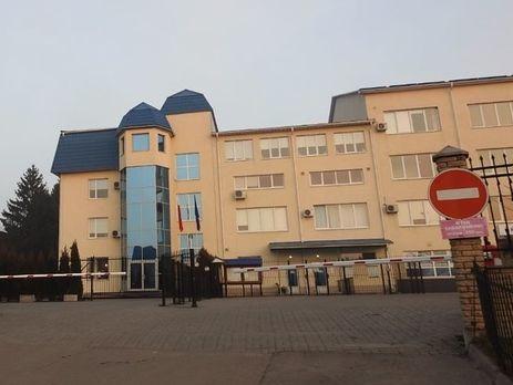 ВЛуцке вГенеральное консульство Польши запустили петарду