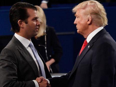 ЗМІ повідомили про зустріч сина Трампа зросіянами, невідому раніше