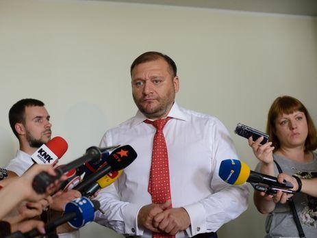 ВКиеве арестовали депутата парламента Михаила Добкина