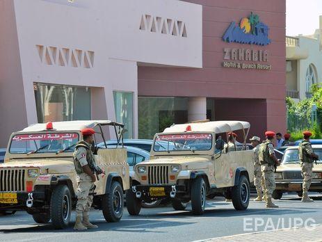 Внаслідок нападу наготель вХургаді поранені 5 туристів з Німеччини,— ЗМІ