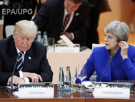 Трамп погодився приїхати уБританію, коли йому забезпечать «теплий прийом»