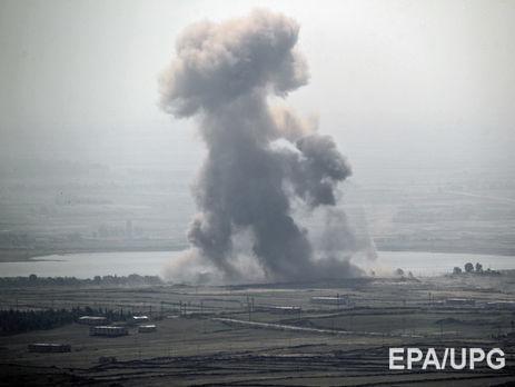 ВпосольствоРФ вСирии попал снаряд