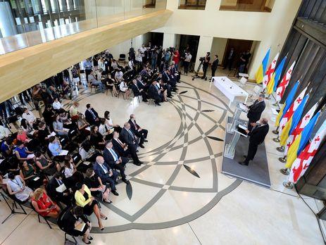 Порошенко і Маргвелашвілі домовилися про координацію дій щодо інтеграції в євроатлантичні структури