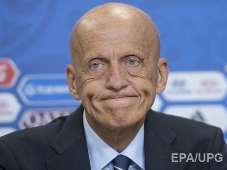 Коллина разорвал договор сФедерацией футбола Украины