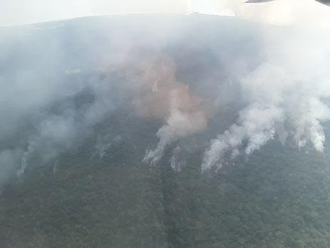 Авиация Украины помогает Черногории воперации потушению масштабных лесных пожаров,— ГСЧС