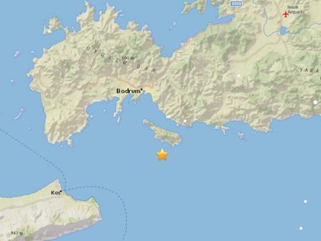 Около курортных городов Турции случилось мощное землетрясение