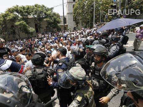 ВИерусалиме в итоге столкновений погибли трое палестинцев