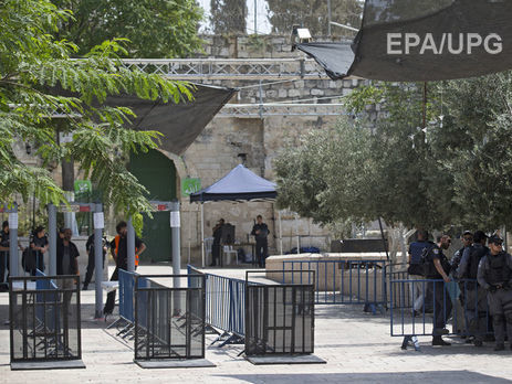 Израиль иИордания обсуждают выборочную проверку мусульман наХрамовой горе