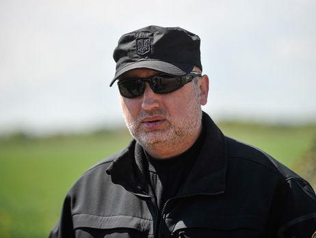 Турчинов испробовал новый украинский гранатомет