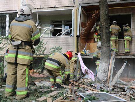 Київгаз назвав ймовірні причини вибуху вкиївській багатоповерхівці