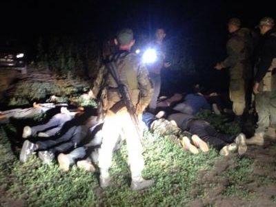 Харьковские таможенники сострельбой задержали 13 нарушителей