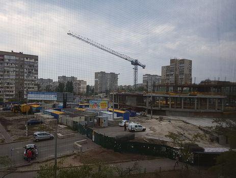 Киев: наскандальной стройке на«Героев Днепра» погиб рабочий