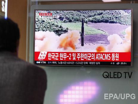 Южная Корея иСША провели общие учения позапуску баллистических ракет