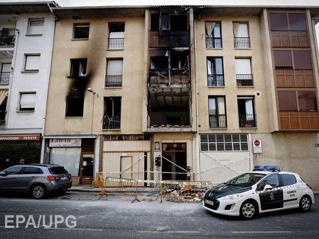 ВИспании при взрыве газа вжилом доме умер человек
