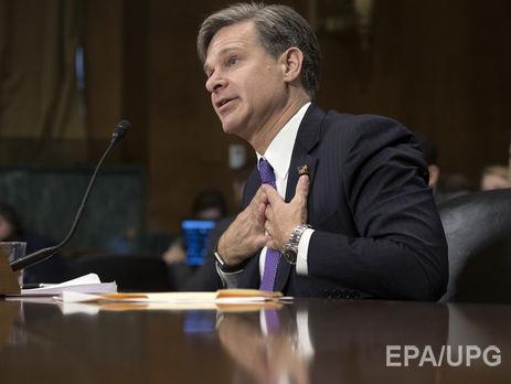 Сенат США проголосує покандидатурі Рея напост глави ФБР