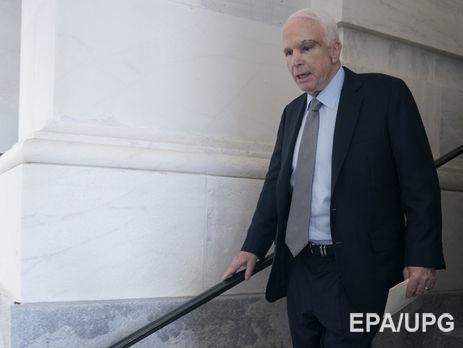 Маккейн объявил  орасплате В. Путина  за«нападение надемократию» США