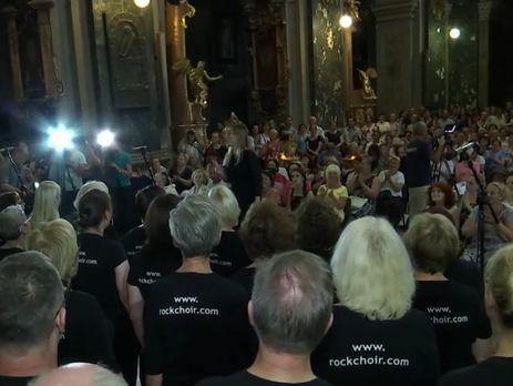 Коллектив приехал в Украину за свой счет