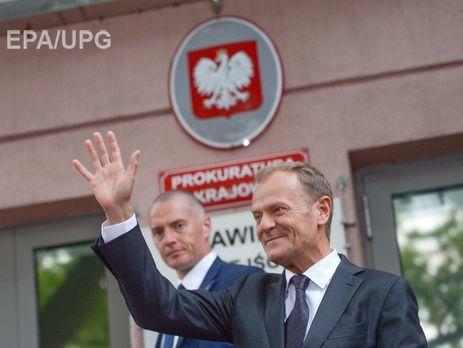 Президент Евросовета был допрошен поделу оСмоленской катастрофе