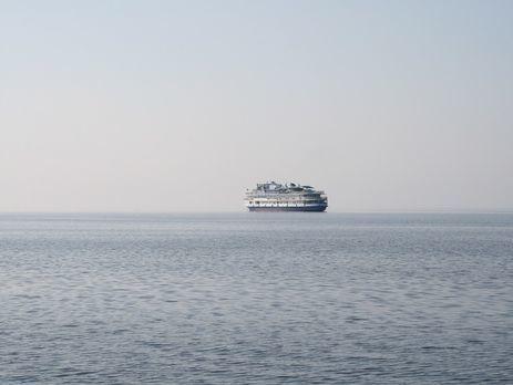 Російське судно зайшло уводи Азовського моря