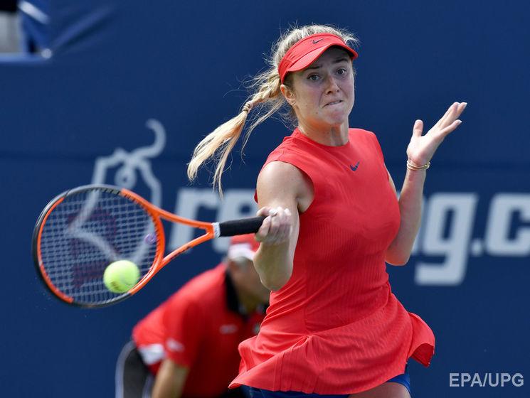 Свитолина обыграла вторую ракетку мира и вышла в финал турнира в Торон