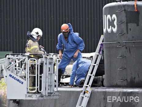 У Данії творця і власника найбільшої у світі приватної підводного човна підозрюють у вбивстві журналістки