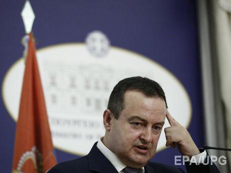 УМЗС Сербії представили план поділу Косово