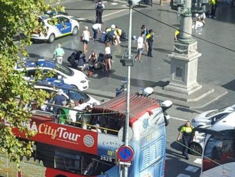Під час теракту вБарселоні загинули неменше 13 осіб— ЗМІ