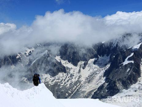 Український альпініст загинув навершині Монблану