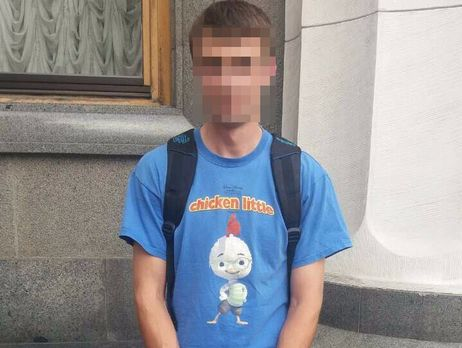 Шкиряк: гражданин Черниговщины схвачен за«нецензурную надпись антигосударственного содержания» на помещении ВР