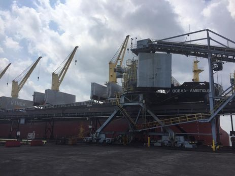 ВСША починають відвантажувати вугілля для України