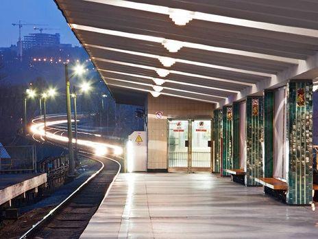 Вкиевском метро задержали диггера
