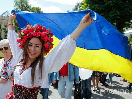 С Украинским государством всердце: граждане оккупированного Крыма устроили патриотический флешмоб