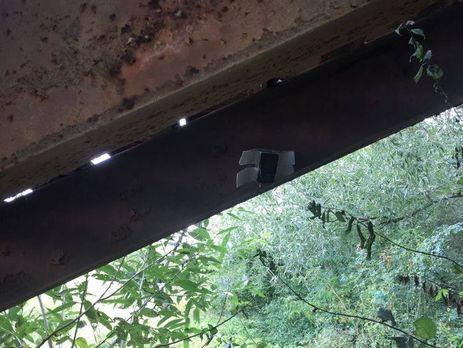 Под пешеходным мостом наИвано-Франковщине найдена взрывчатка