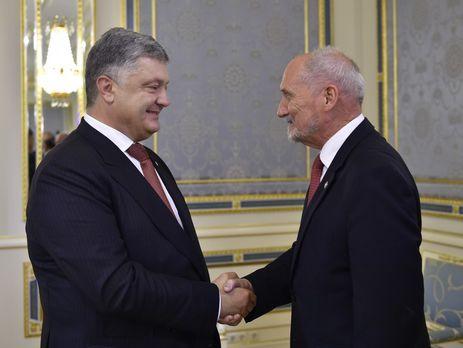 Украина иПольша договорились о общих военных учениях