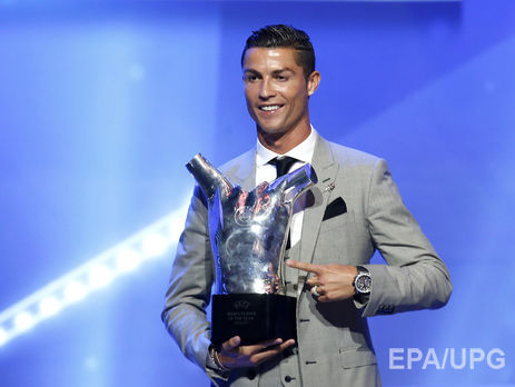 Роналду став найкращим гравцем минулого сезону заверсією УЄФА
