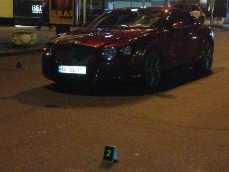 УКиєві Шуфрич-молодший на«Bentley» збив людину