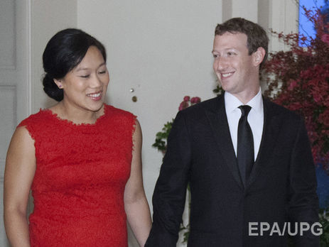 Узасновника мережі Facebook народилася друга донька