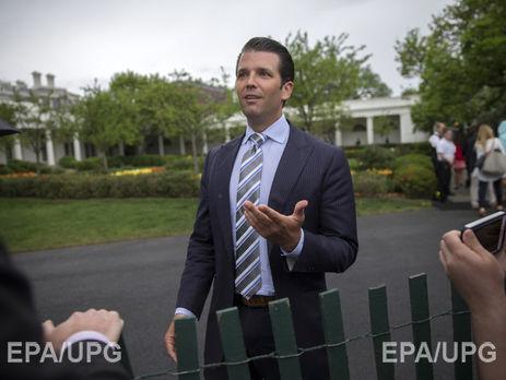 Сын Трампа даст показания Сенату поделу овмешательствеРФ ввыборы