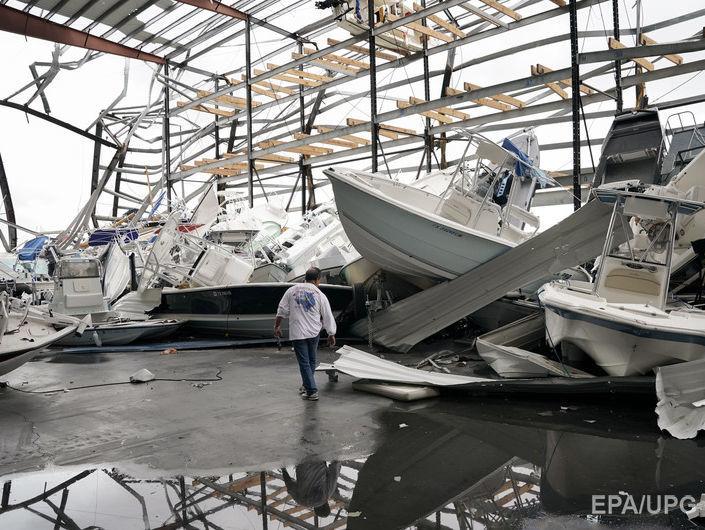 А США обрушился ураган Харви