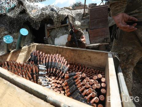 Намариупольском направлении боевики обстреливали позиции ВСУ изпулеметов