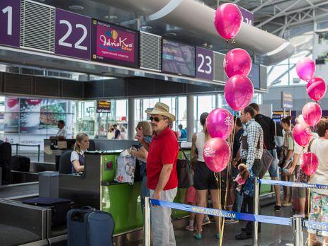 В «Жулянах» из-за срыва 2-х рейсов застряли десятки туристов