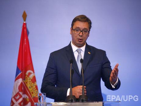 ВБелграде Бентли сиспанскими номерами врезался вкортеж президента Сербии