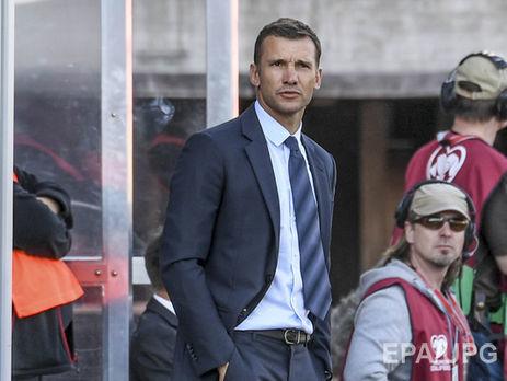 Шевченко заявил что игроки сборной находятся в хорошей форме