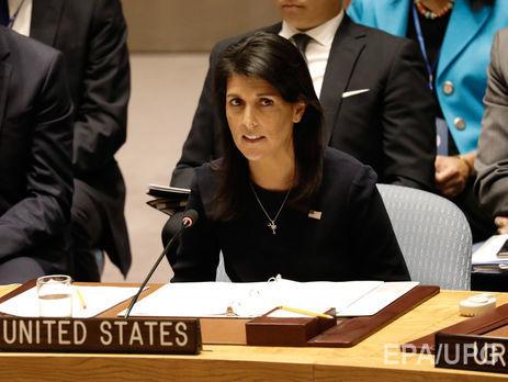 Постпред США: Час використати усі дипломатичні заходи заради припинення кризи із КНДР