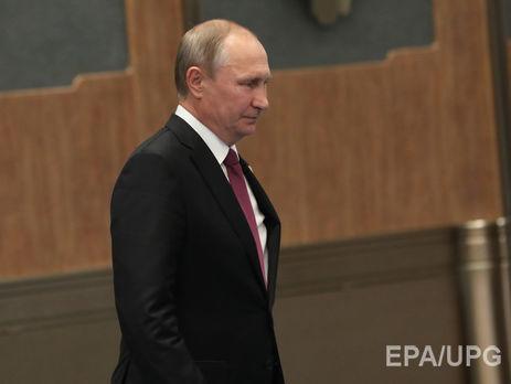 Путін: постачання летальної зброї Україні погіршить ситуацію наДонбасі