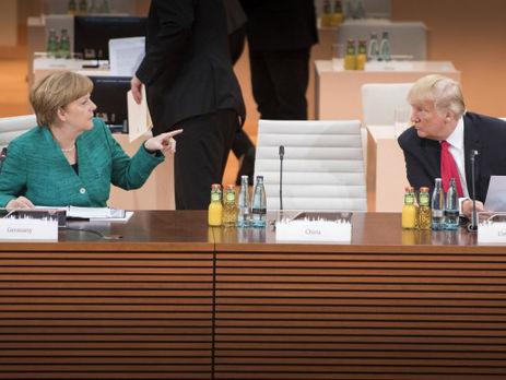Трамп і Меркель домовилися посилити санкції проти КНДР